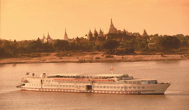 Road to Mandalay River Cruise: Exterior