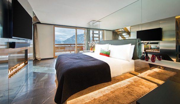 W Verbier: WOW Suite Bedroom