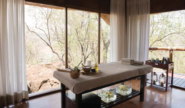Madikwe Hills Private Game Lodge: Spa