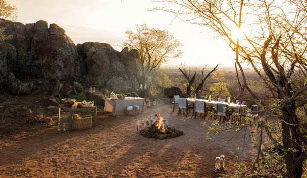 Madikwe Hills Private Game Lodge: Boma