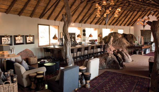 Madikwe Hills Private Game Lodge: Main Lounge