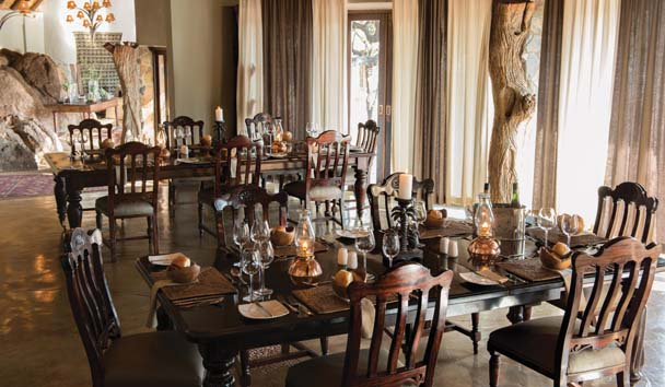 Madikwe Hills Private Game Lodge: Dining Room