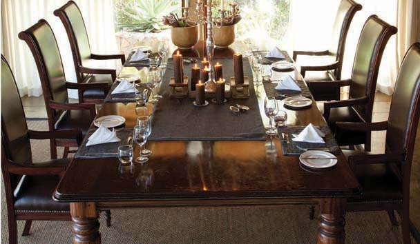 Leopard Hills Private Game Reserve: Dining