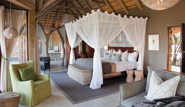 Leopard Hills Private Game Reserve: Luxury Suite Interior