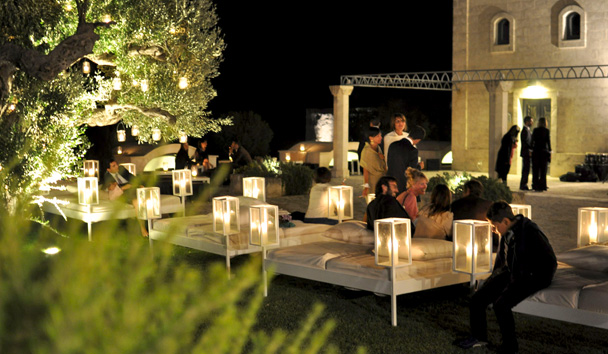 Masseria San Domenico: Evening Lounging