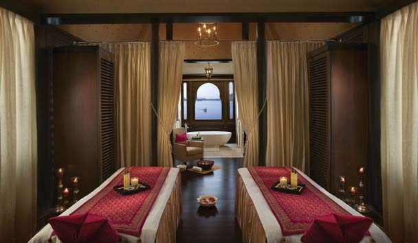 The Leela Palace Udaipur: Spa Treatment Room