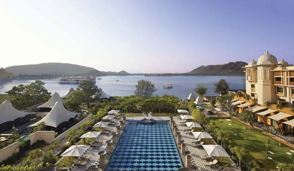 The Leela Palace Udaipur: Pool View