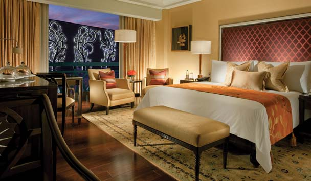 The Leela Palace, Chennai: Deluxe City View Room
