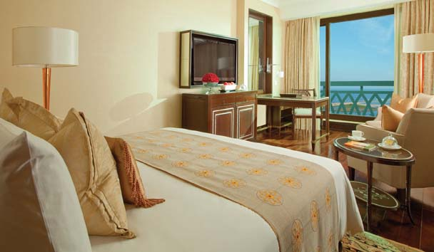 The Leela Palace, Chennai: Deluxe Sea View Room