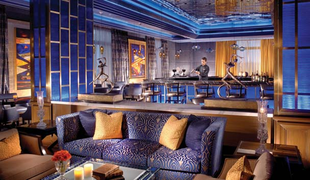 The Leela Palace, Chennai: Library Blu Bar