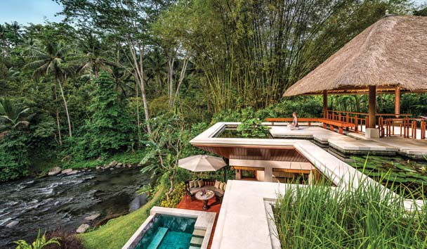 Four Seasons Resort Bali at Sayan: Riverfront One Bedroom Villa