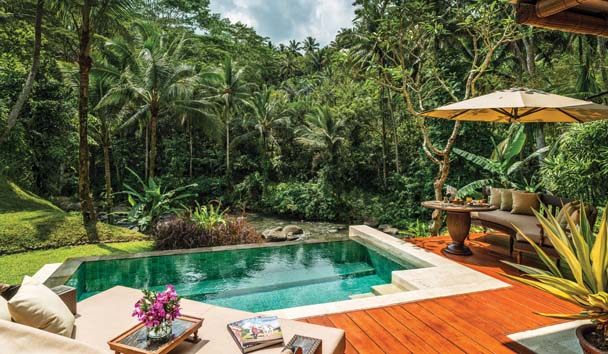 Four Seasons Resort Bali at Sayan: Riverfront Villa