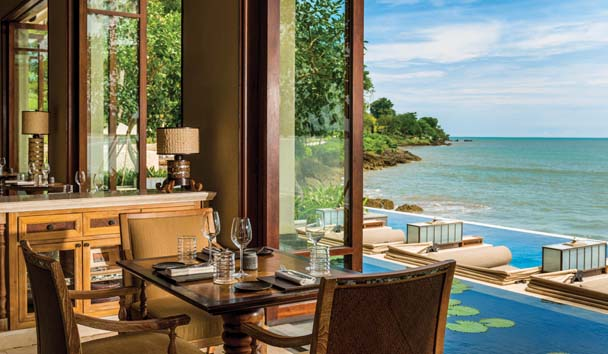 Four Seasons Resort Bali at Jimbaran Bay: Sundara Restaurant