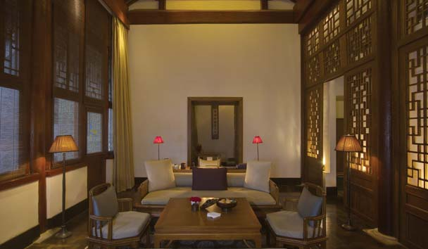 Aman at Summer Palace, Beijing: Deluxe Suite