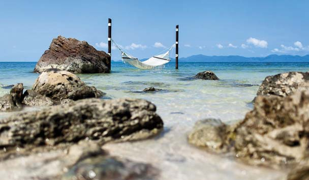 Four Seasons Resort Koh Samui: Hammock Over the Waves