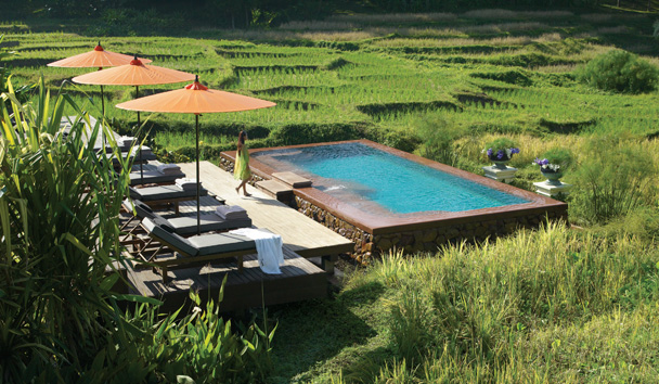 Four Seasons Resort Chiang Mai: Lower Pool