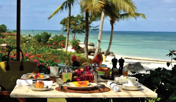 The Residence Zanzibar: Al Fresco Dining
