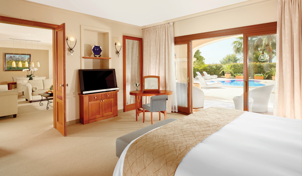 The St. Regis Mardavall Mallorca Resort: Ocean One Bedroom Suite