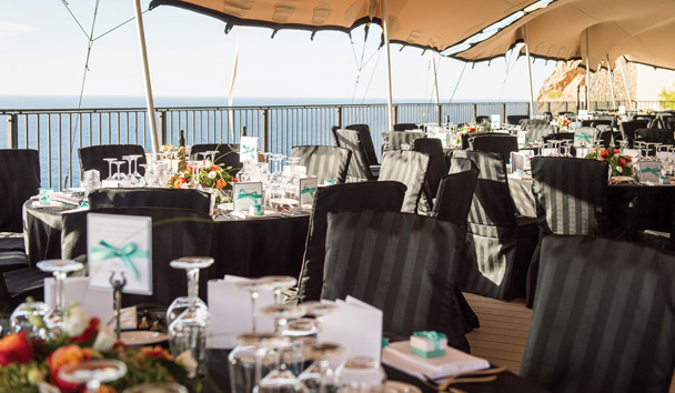 Jumeirah Port Soller Hotel & Spa: Cap Roig Restaurant Views