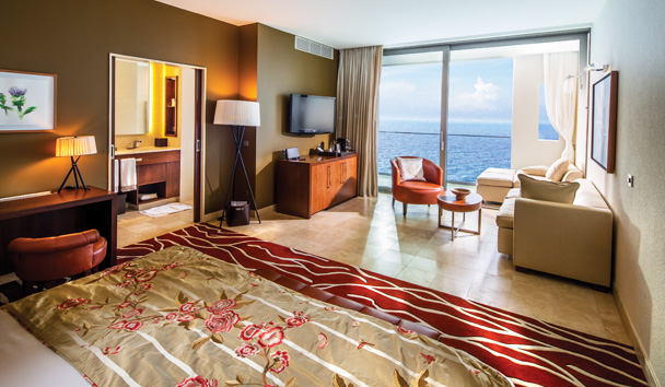 Jumeirah Port Soller Hotel & Spa: Grand Deluxe Sea View Room