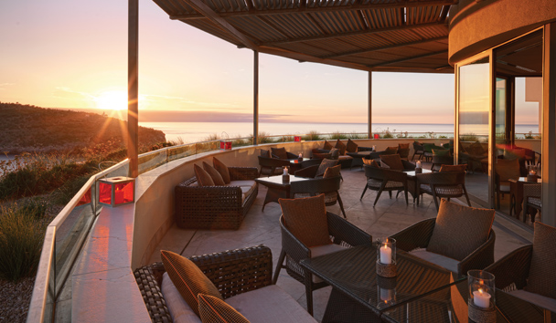 Jumeirah Port Soller Hotel & Spa: Sunset Sushi Lounge Views