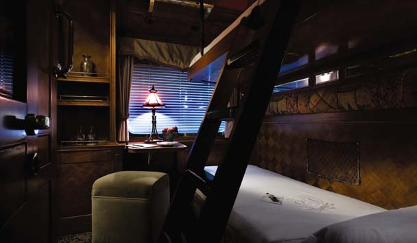 Eastern & Oriental Express: Pullman Suite