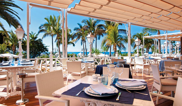 Bahia del Duque: Beach Club Restaurant