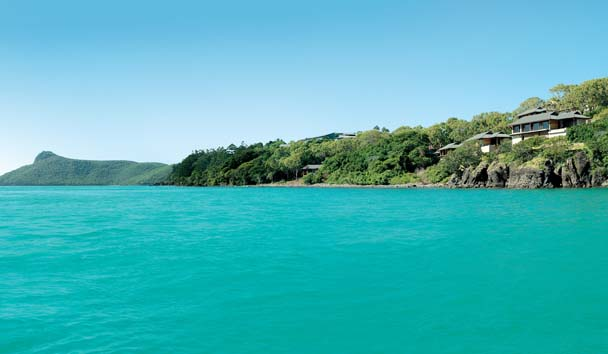 Qualia, Great Barrier Reef: Exterior