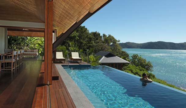 Qualia, Great Barrier Reef: View from The Beach House Private Pool