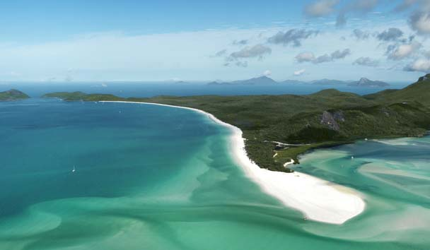 Qualia, Great Barrier Reef: Beach