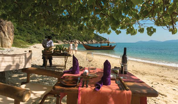 Six Senses Ninh Van Bay: Dining On The Beach