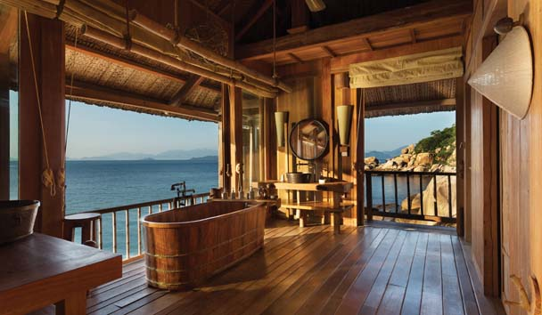 Six Senses Ninh Van Bay: Bathroom