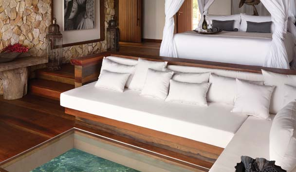 Song Saa Private Island: Overwater Villa Interior