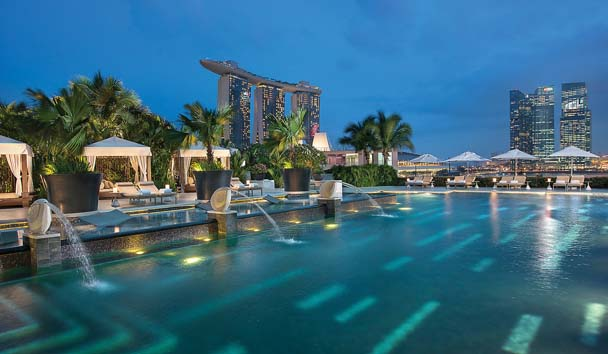 Mandarin Oriental, Singapore: Fitness and Wellness Swimming Pool