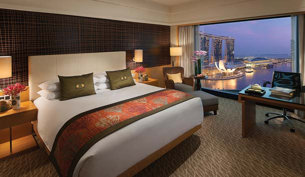 Mandarin Oriental, Singapore: Marina Bay View Room