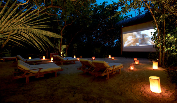 Gili Lankanfushi: Jungle Cinema