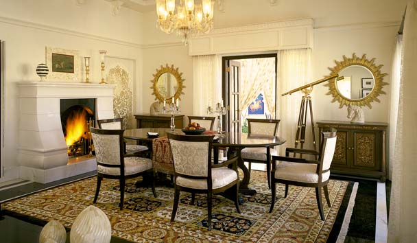 The Oberoi Udaivilas: Suite Dining