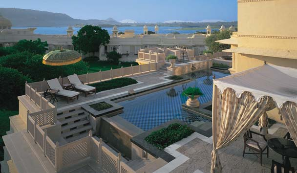 The Oberoi Udaivilas: Outdoor Pool