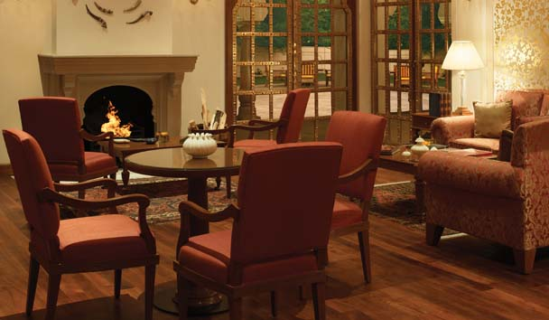The Oberoi Rajvilas: Lounge