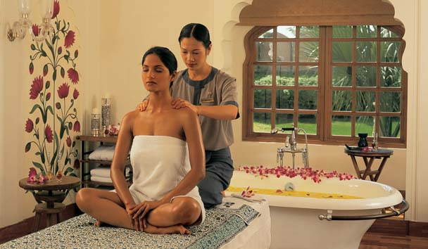 The Oberoi Rajvilas: Spa