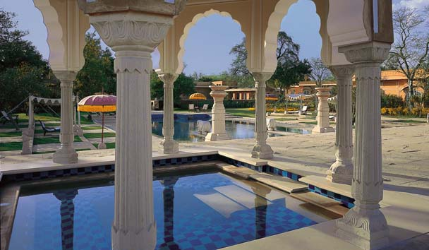 The Oberoi Rajvilas: Pool Pavilion