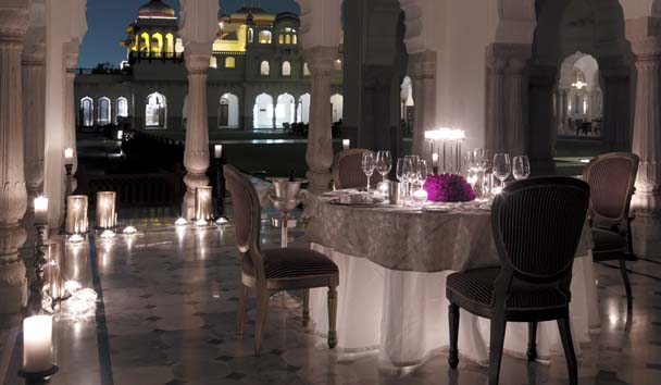 Rambagh Palace: Dining