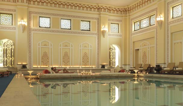 Rambagh Palace: Indoor Pool