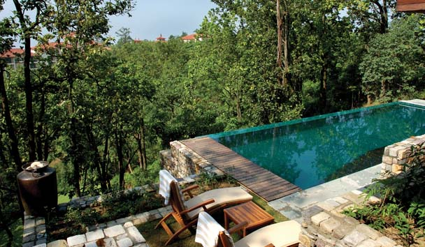 Ananda in the Himalayas: Infinity Pool