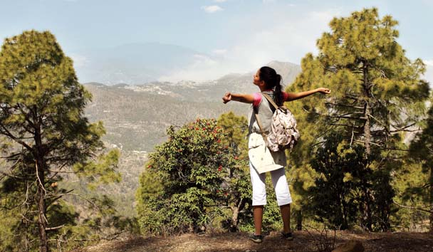 Ananda in the Himalayas: Hiking