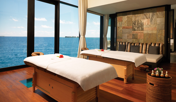 Talise Spa – Overwater Treatment Room