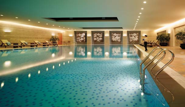 Shangri-La Hotel Chengdu: Fitness Centre Swimming Pool