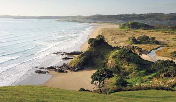 Kauri Cliffs: Beach