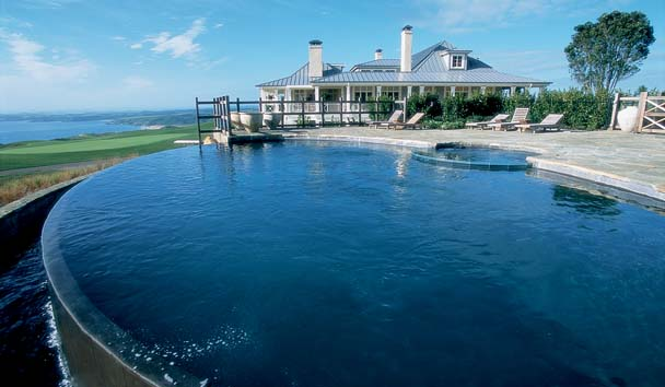 Kauri Cliffs: Outdoor Pool