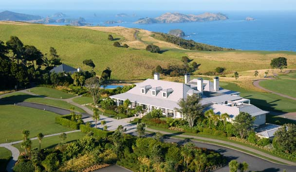 Kauri Cliffs: Exterior View